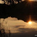 Sirio lake, Ivrea, Piedmont, Italy