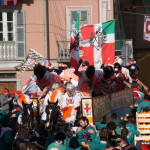 Ivrea, Piedmont, Italy, battle of the oranges