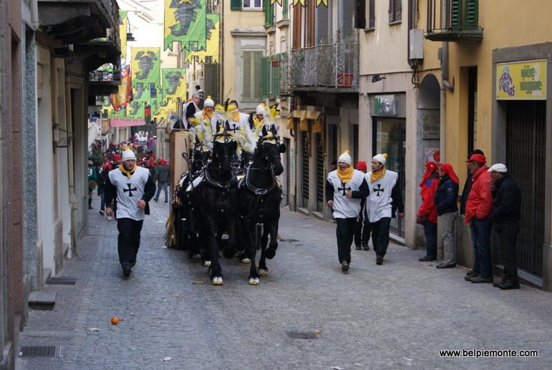Ivrea, Piedmont, Italy, carnival 2013
