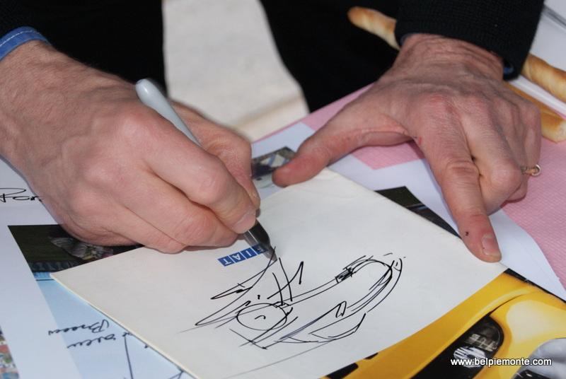 A sketch of Chris Bangle