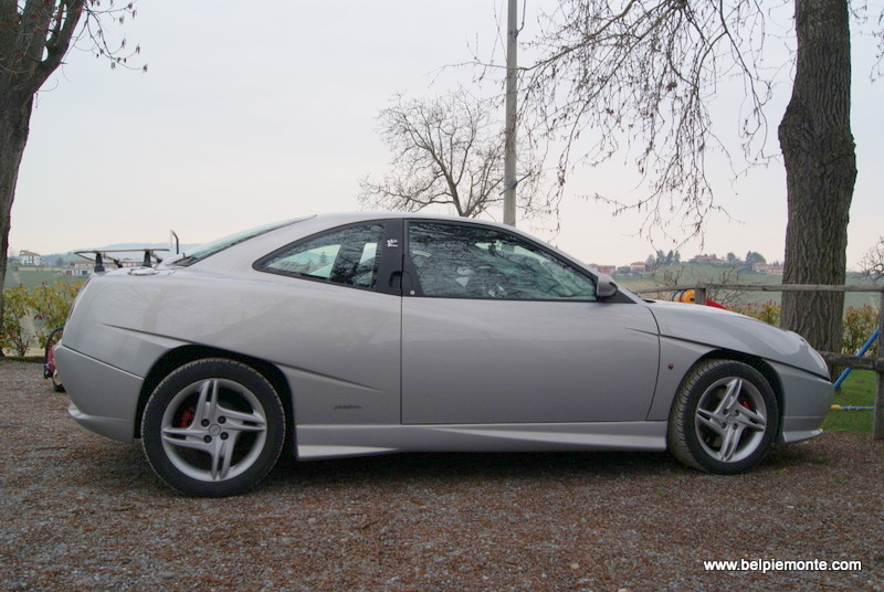A classic model of Fiat Coupe