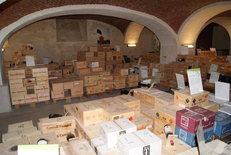 La Banca del Vino, Pollenzo, Piedmont, Italy