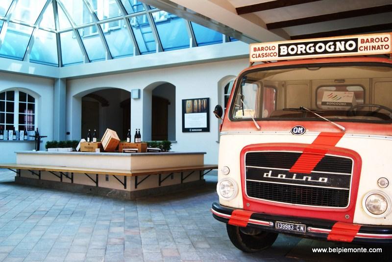 Borgogno shop in Barolo town