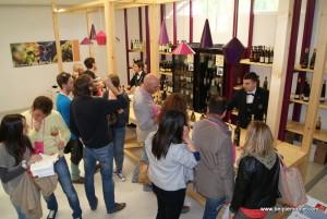 Vinum 2013 in Alba town, Piedmont, Italy