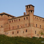 The castel of Grinzane Cavour. Piedmont, Italy