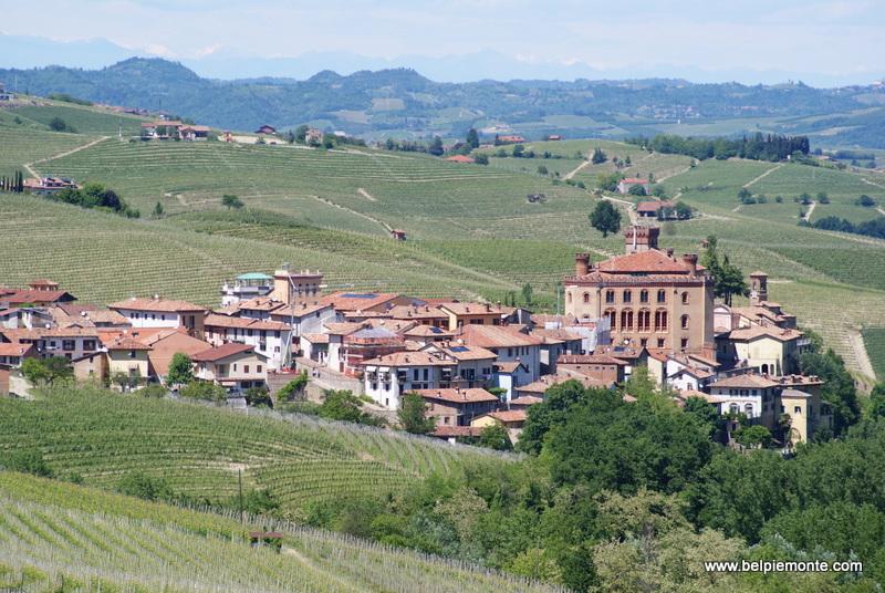 Barolo town, Piedmont, Italy