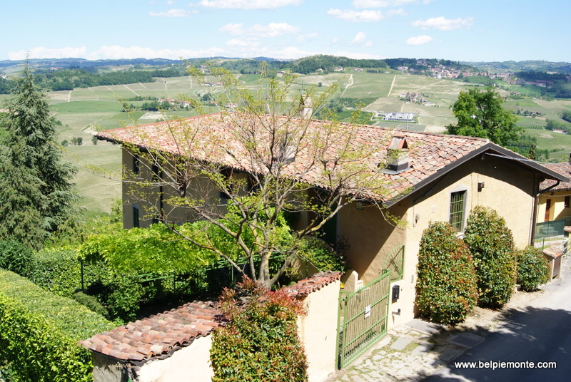 The Langhe area panorama, Piedmont, Italy