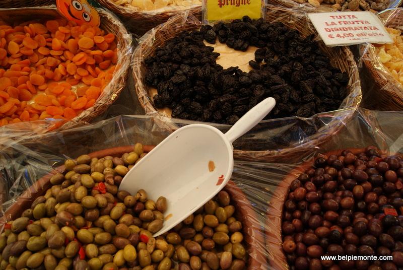 Dogliani market, Piedmont,Italy