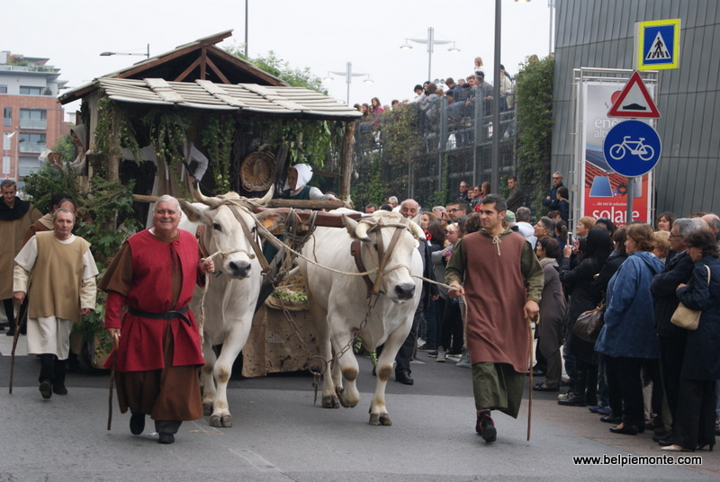 Parade of Palio degli Asini, Alba, Piedmont, Italy