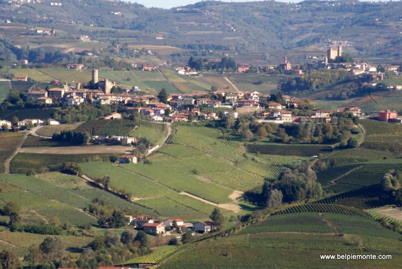 Castiglione Falletto and Serralunga d'Alba, Piedmont, Italy