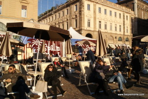 Piazza San Carlo, Turin, Piedmont, Italy