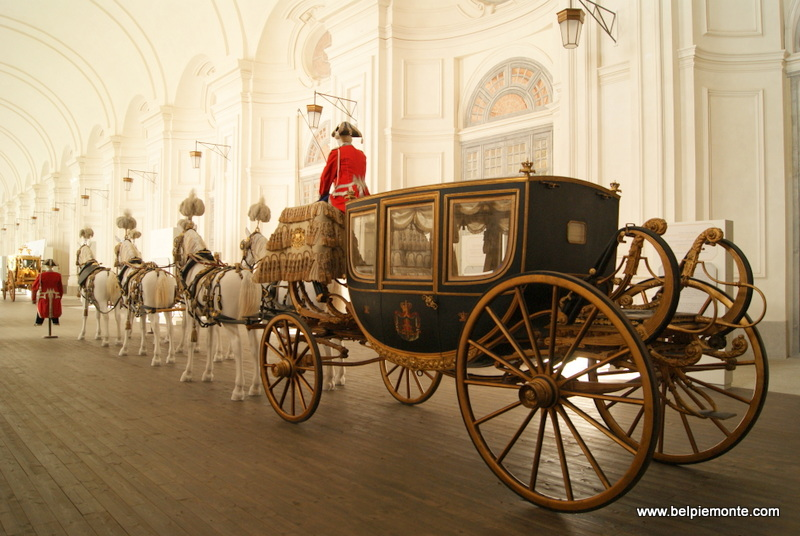 Royal Carriages exhibition, Reggia of Venaria Reale, Turin, Piedmont, Italy