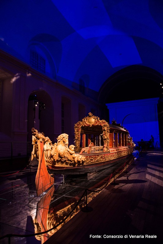 The Sublime Boat exhibition, Reggia of Venaria Reale, Turin, Piedmont, Italy