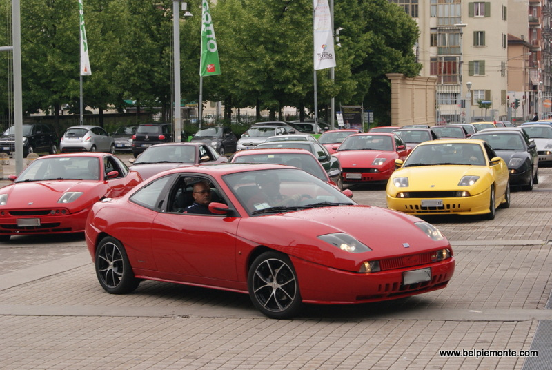 20th anniverasry of Fiat Coupe', Turin, Piedmont, Italy