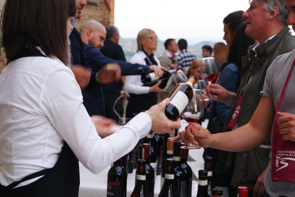 Barolo wine tasting, Roddi, Piedmont, Italy
