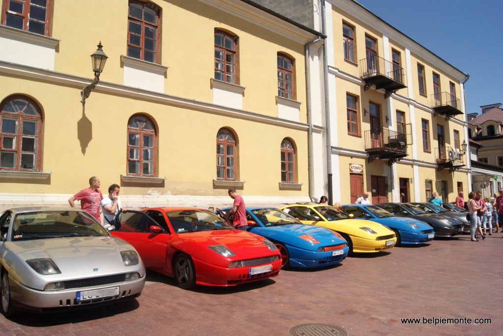 Fiat Coupe' reunion in Poland
