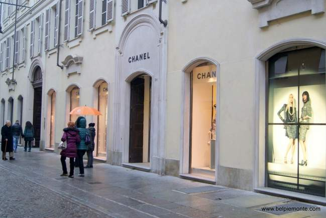 Chanel store, Turin, Italy