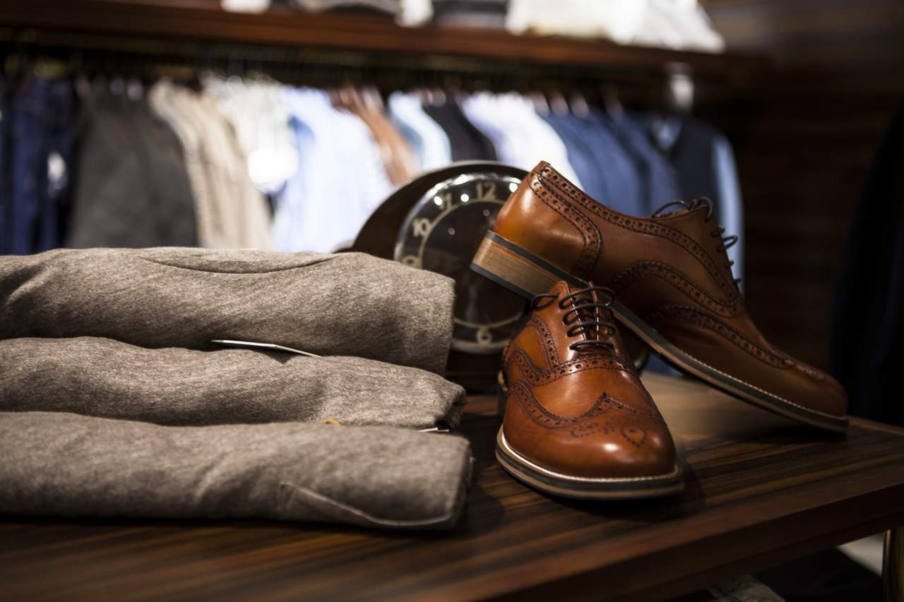 shopping in Turin, men accessories