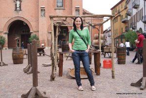 Alba, Włochy podczas Vinum