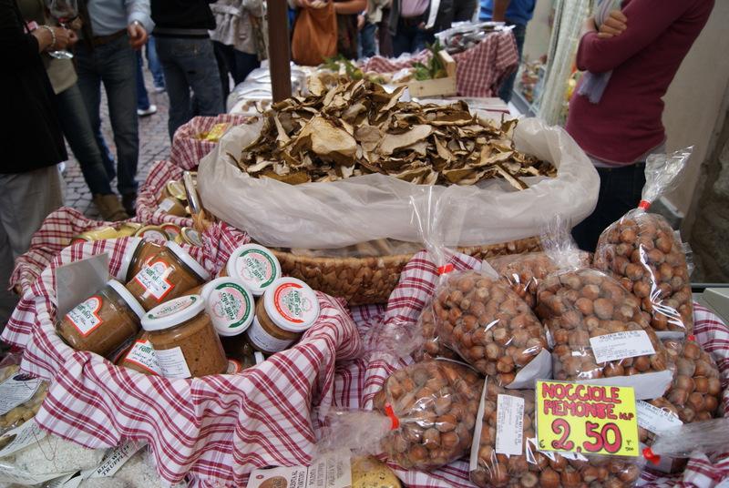 smakołyki Piemontu, Alba, Piemont, Włochy