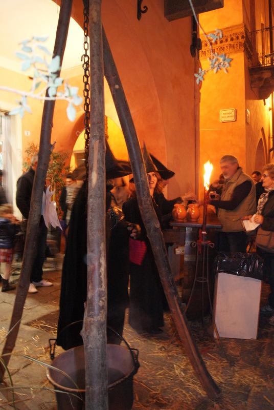 il Baccanale det tartufo w Albie, Piemont, Włochy