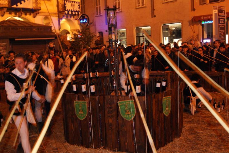 Alba, Piemont, Włochy - il Baccanale del tartufo