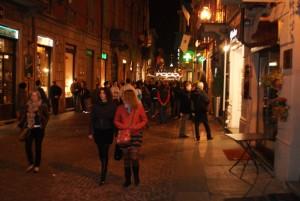 miasteczko Alba w Piemoncie, Włochy