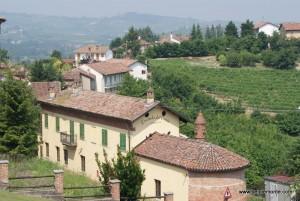 zamek (castello) Grinzane Cavour, Piemont, Włochy