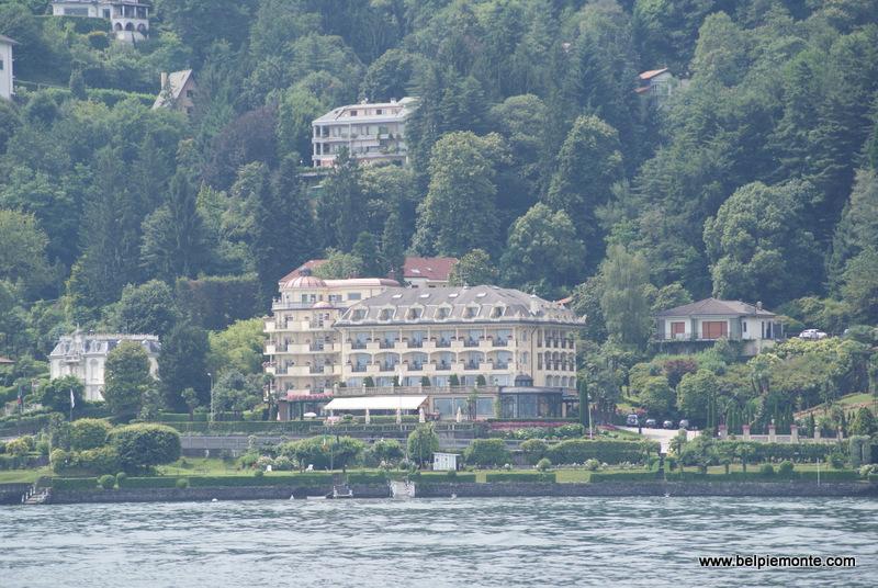 Stresa - wille, hotel, promenada