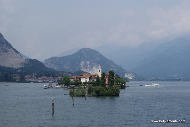 Lago Maggiore - wysepka Isola dei Pescatori