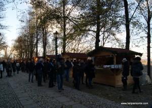 Govone - stoiska w parku otaczającym zamek