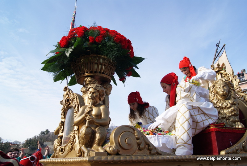 Ivrea (Piemont, Włochy), la Mugnaia