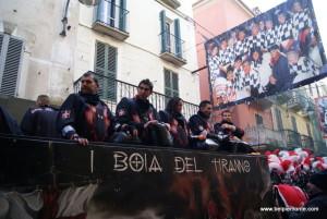 Ivrea, Piemont, Włochy, bitwa na pomarańcze 2013