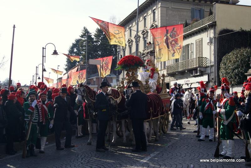 Ivrea, Piemont, Włochy, la Mugnaia