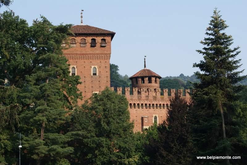 Borgo Medievale, Turyn, Włochy