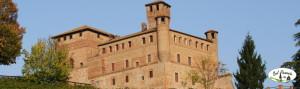 Zamek w Grinzane Cavour, Piemont, Włochy