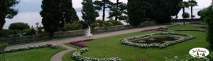 Ogród na Isola Bella, Piemont, Włochy