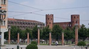 Porta Palatina, Turyn, Włochy