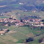 Krajobraz Langhe, Piemont, Włochy