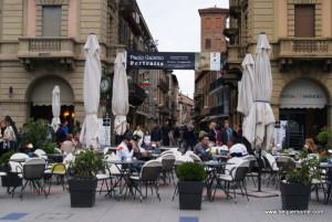 Piazza Savona, Alba, Piemont, Włochy