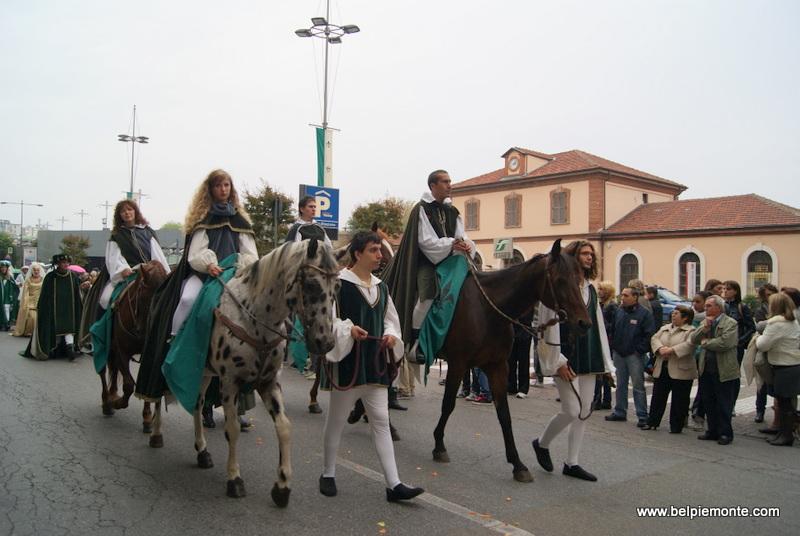 Parda przed Palio degli Asini, Alba, Piemont, Włochy