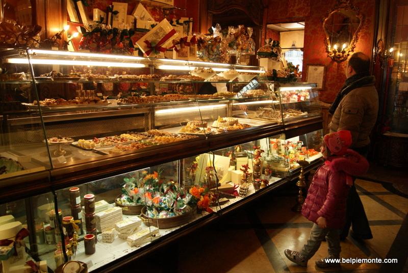 Caffe' Torino w Turynie, Włochy