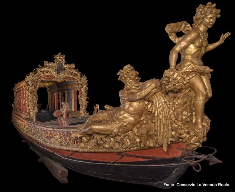 La Barca Sublime w Reggia di Venaria Reale, Turyn, Piemonte, Włochy
