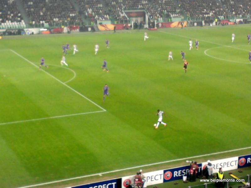 Mecz Juventus-Fiorentina, Turyn, Piemont, Włochy