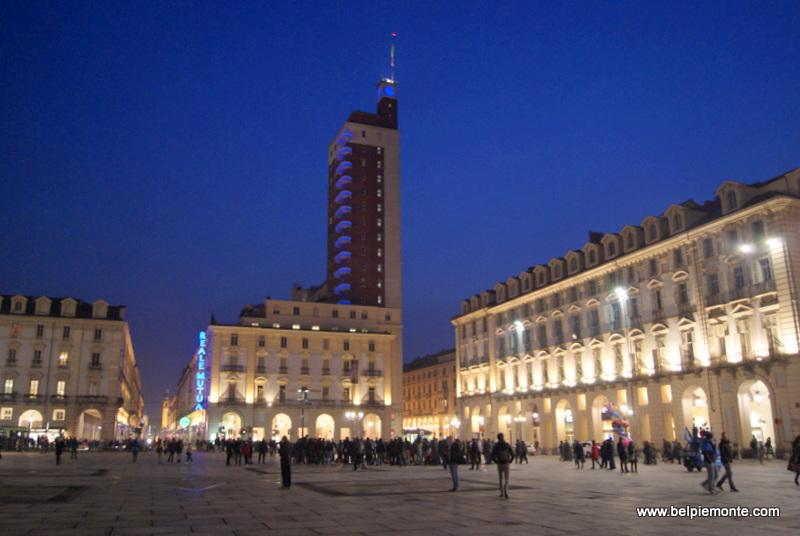 Piazza Castello, Turyn, Piemont, Włochy