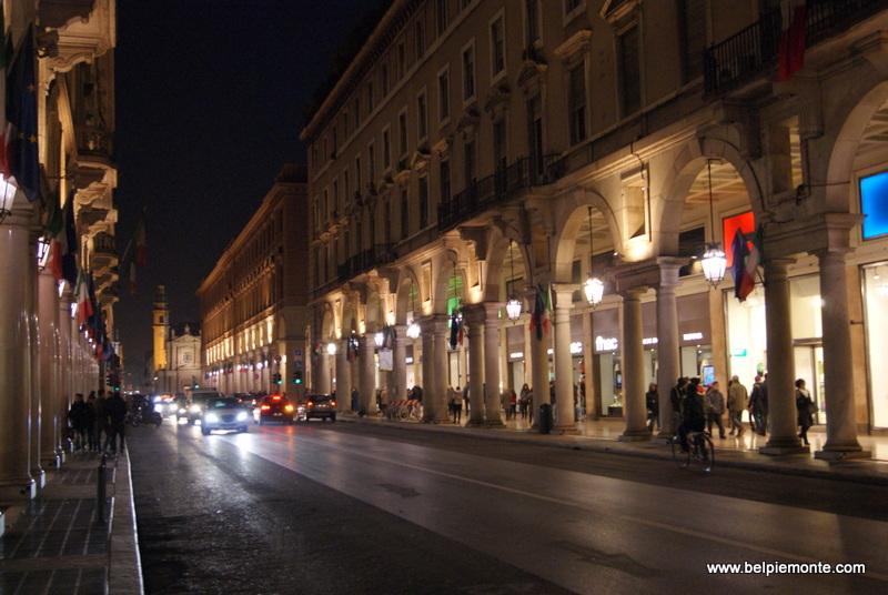 via Roma, Turyn, Piemont, Włochy