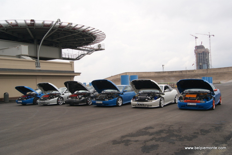 20-lecie Fiat Coupe', Turyn, Piemont, Włochy