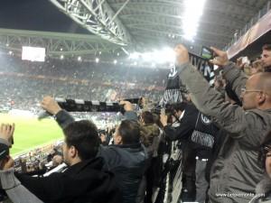 Mecz Juve na Juventus Stadium, Turyn, Włochy