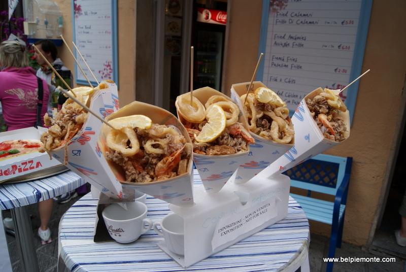 Fast food w wersji włoskiej, Liguria, Włochy