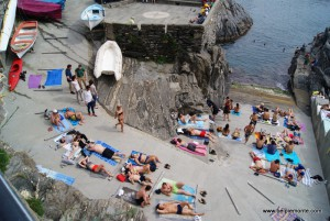 Manarola, Cinque Terre, Liguria, Włochy